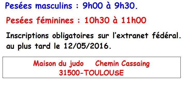 Baskets 2018 incroyable sélection meilleure sélection de 2019 Coupe Régionale Ceintures de Couleurs J/S Toulouse - Avenir ...