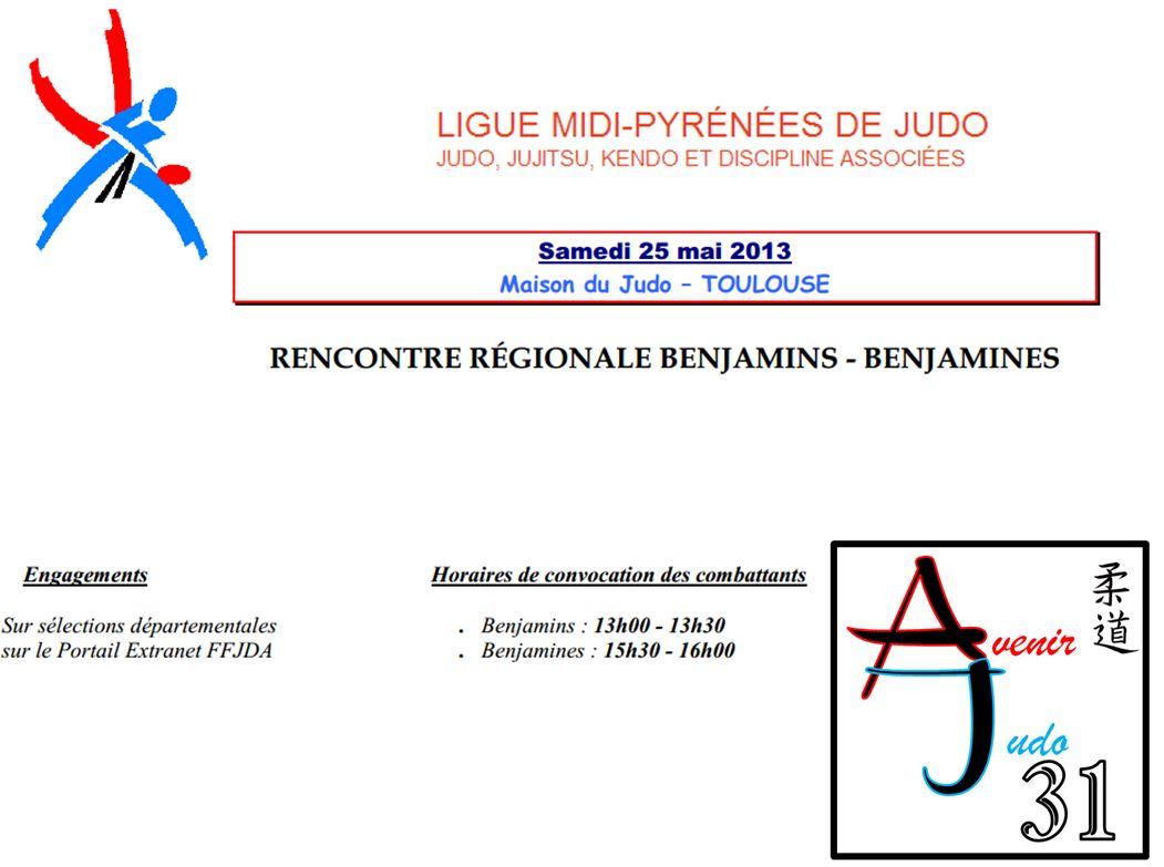 à venir judo 31