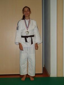 Médaille de Bronze pour Clémence